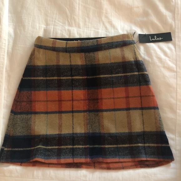 b9fff842a4 Lulu's mad for plaid beige plaid mini skirt. M_5ac02dcba4c485015e549dc6